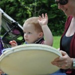 Families Making Music Outdoors