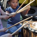 Pre-School Music: Two and Three Year Olds Playing Instruments