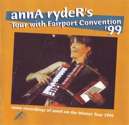 annA rydeR's Tour with Fairport Convention '99