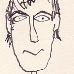 Cartoon Steve Tilston