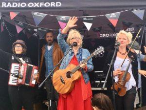 Iota at Cropredy on Radio Oxford Live