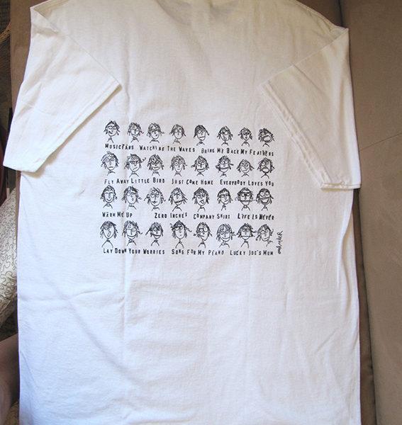 AOMF T-shirt back