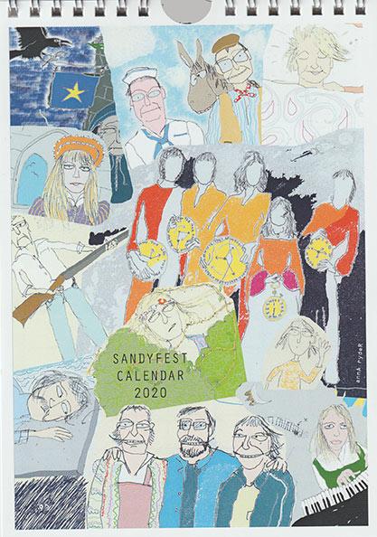 SandyFest Calendar 2020