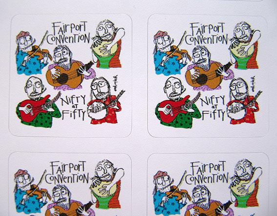 Six Stickers